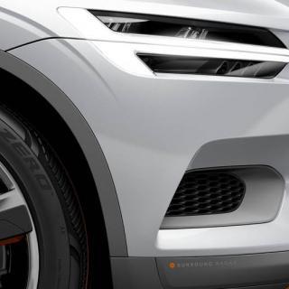 Volvo XC Concept Coupé kanske ger en liten försmak av hur en kommande mindre Volvomodell kan se ut.