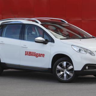 Peugeot 2008 är en crossovermodell byggd på teknik från småbilen 208.