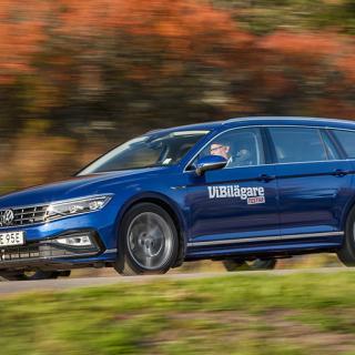 Kombitest: Ford Mondeo, Peugeot 508 och VW Passat