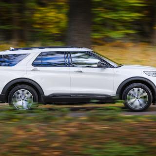 Ford Explorer PHEV säljs exklusivt i Europa. En av få sjusitsiga och laddbara suvar på marknaden.