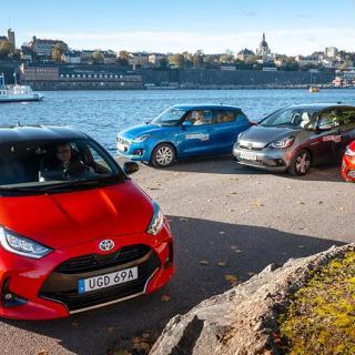 Ljustest: Ford Fiesta, Suzuki Swift, Volkswagen Polo (2017)