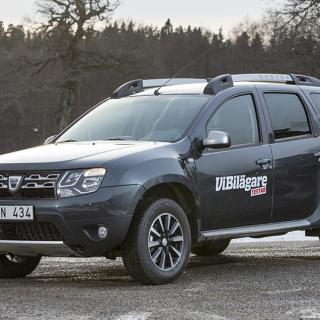 Dacia Duster – rapport från provkörningen