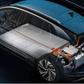 Bilden visar inte det nya solid state-batteriet, men Volkswagen är investerare i företaget Quantumscape.