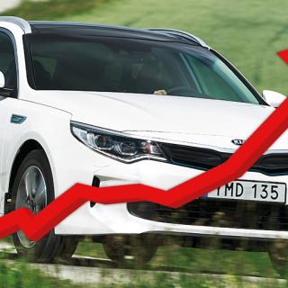 Bilköparnas favoriter: Här är modellerna som säljs snabbast