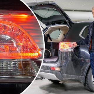 Ny generation av Mitsubishi Outlander på ingång