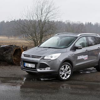 Ljustest: Ford Kuga, Honda CR-V, Kia Sportage (2019)