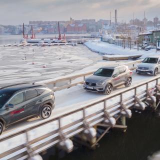 Ljustest: BMW X1, Ford Kuga, Kia XCeed, Peugeot 3008, Volvo XC40 (2020)