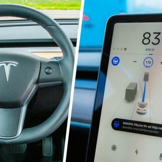 Webb-TV: Vi provkör Tesla Model 3