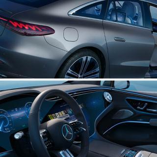 Mercedes: Nya elbilen EQS är lönsam redan från start