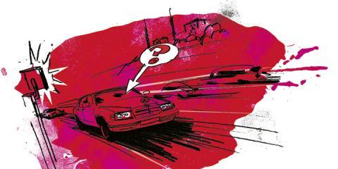 Frågeställaren vet inte vem som körde vid tillfället då bilen ska ha fotograferats av en fartkamera. Illustration: Johan Isaksson.