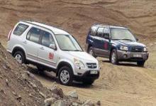 Biltest: Subaru Forester X, Honda CR-V
