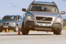 Biltest: Volvo XC90, BMW X5