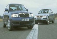Rosttest: Skoda Superb (2002)