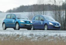 Biltest: Peugeot 307, Renault Mégane