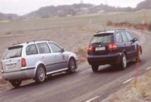 Biltest: Skoda Octavia RS Kombi, Volvo V40 T4