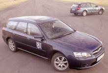 Rosttest: Subaru Legacy 2,0i AWD (2003)