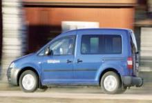 Rosttest: Volkswagen Caddy Life 1,6 (2005)