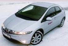 Ljustest: Honda Civic 1,8 Sport 5d