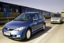 Ljustest: Honda Civic Hybrid