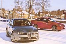 Biltest: Alfa 159, Honda Accord Type-S