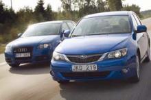 A3 för prestandan - Subaru för priset