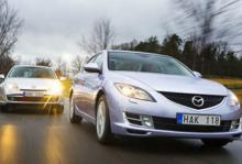 Mazda6 starkare än Laguna