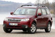 Provkörning: Subaru Forester 2,0 XE