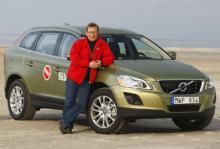 Volvo XC60 och Mikael Schultz.