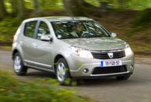 Dacia Sandero - lågt pris och låg säkerhet
