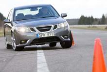 Ljustest: Saab 9-3 2,8T XWD