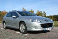 Provkörning: Peugeot 407 SW 2,0 Bioflex
