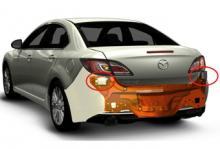 Mazda6 blir säkrare - med hjälp av radar