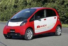 Notis: Mitsubishi lanserar ny el-bil