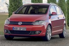Volkswagen Golf Plus - redo för lansering