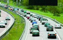 Så här ser det ut på de svenska vägarna