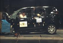 Euro NCAP: C3 Picasso & Impreza missar full pott