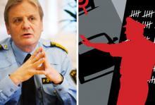 Rikspolischefen Bengt Svenson