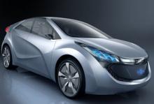 Bilsalongen i Seoul: Hyundai visar hybridkoncept
