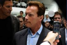 Schwarzenegger på plats