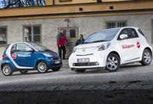 Toyota iQ och Smart Fortwo - vem vinner kampen under tre meter?