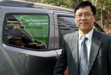 Byung Ki Ahn är chefsingenjör och ansvarig för utvecklingen av bränslecellbilar.