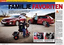 Hela duellen mellan Audi A4 Avant och Mazda6 kombi läser du i Vi Bilägare 7/09 som utkommer 12 maj.