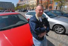 René Augusti hoppas snart kunna byta ut sin 14 år gamla VW Polo.