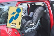 Det nya märket för säker bilbarnstol.