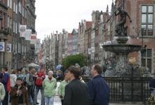 Det är nästan svårt att förstå men stora delar av det gamla Gdansk är en rekonstruktion som gjorts med hjälp av bland annat kopparstick.