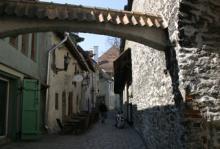Katarinagränden får ofta representera medeltiden i europeiska storfilmer.