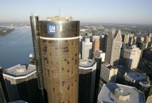 General Motors högkvarter i Detroit.