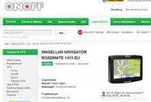 Onoff säljer en gps som inte kan uppdateras - utan att berätta det.