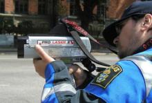 Polisen och NTF vill minska hastigheten i tätort