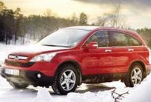 Rosttest: Honda CR-V 2,0 Executive